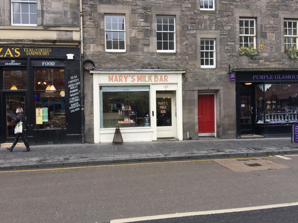 Restaurant Tipps Edinburgh Marys Milk Bar