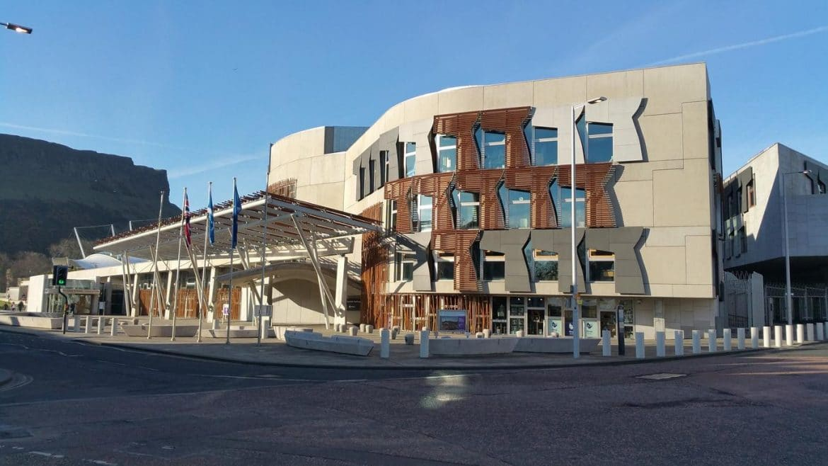 Edinburgh The Scottish Parliament