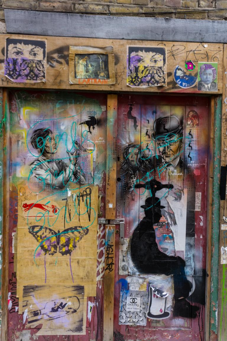 Streetart in London - Brick Lane und das East End