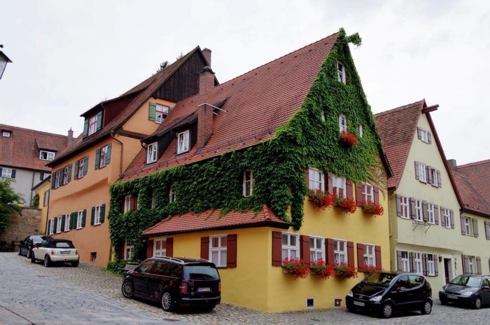 Dinkelsbühl Altstadt Fachwerkhäuser