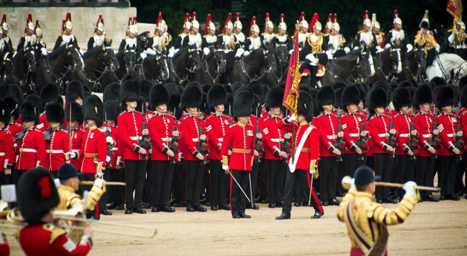 Trooping the Colours London