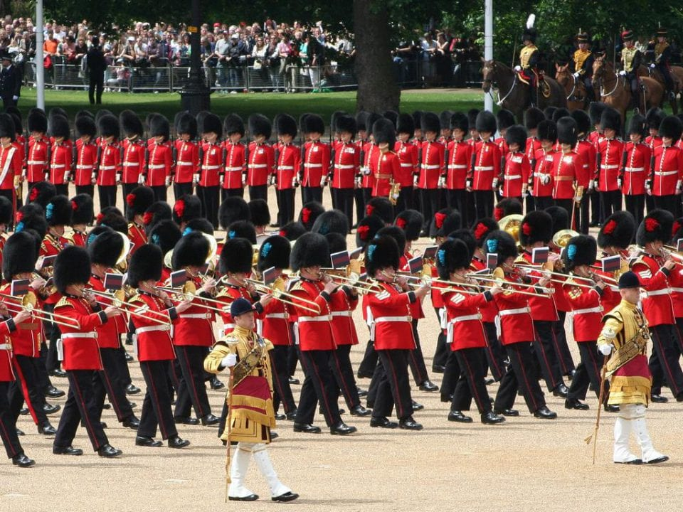 Parade Buckingham Palace Trooping the Colours