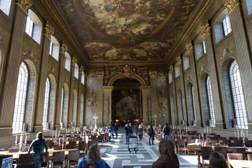 Greenwich London Painted Hall