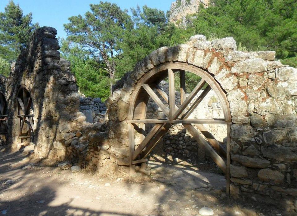 Olympos Ruinen