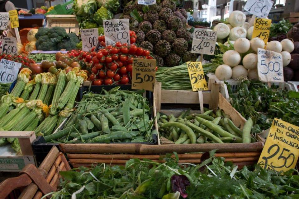 Prati Rom Markthalle Gemüse