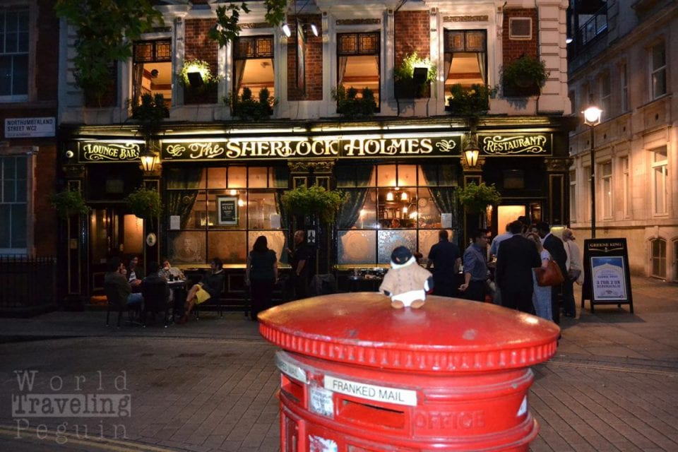 In London - Ping zu Gast im The Sherlock Holmes