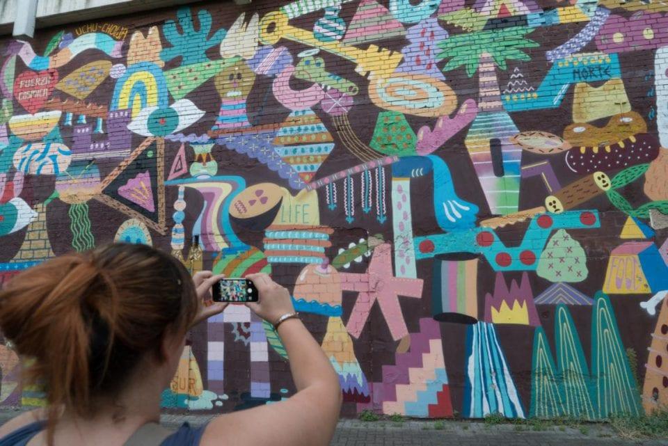 Streetart Köln Zosen Mural
