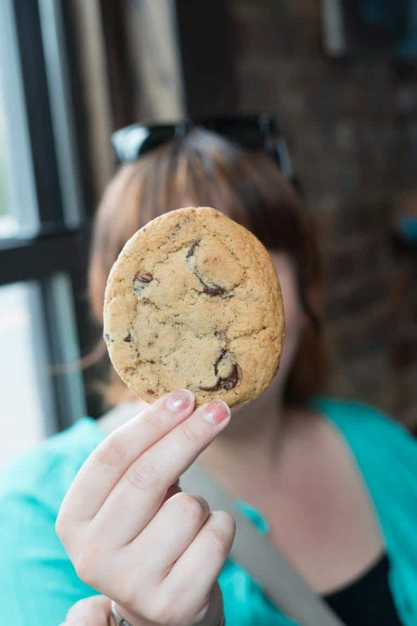 Long Island City Food Tour Corner Cafe Cookie