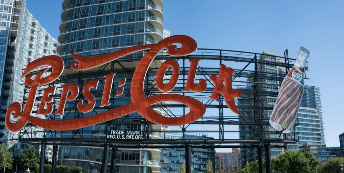 Long Island City Pepsi Cola Sign