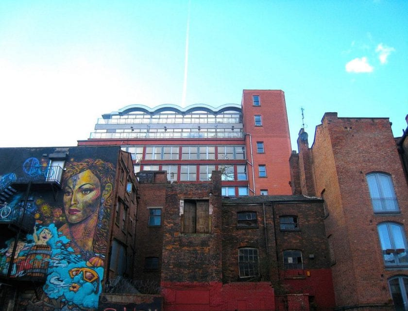 Das Northern Quarter Manchester street art