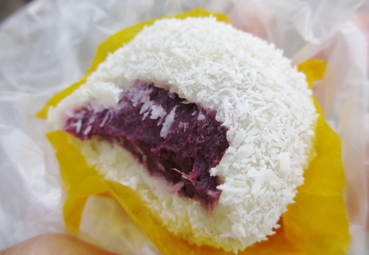 Klepon aus Indonesien