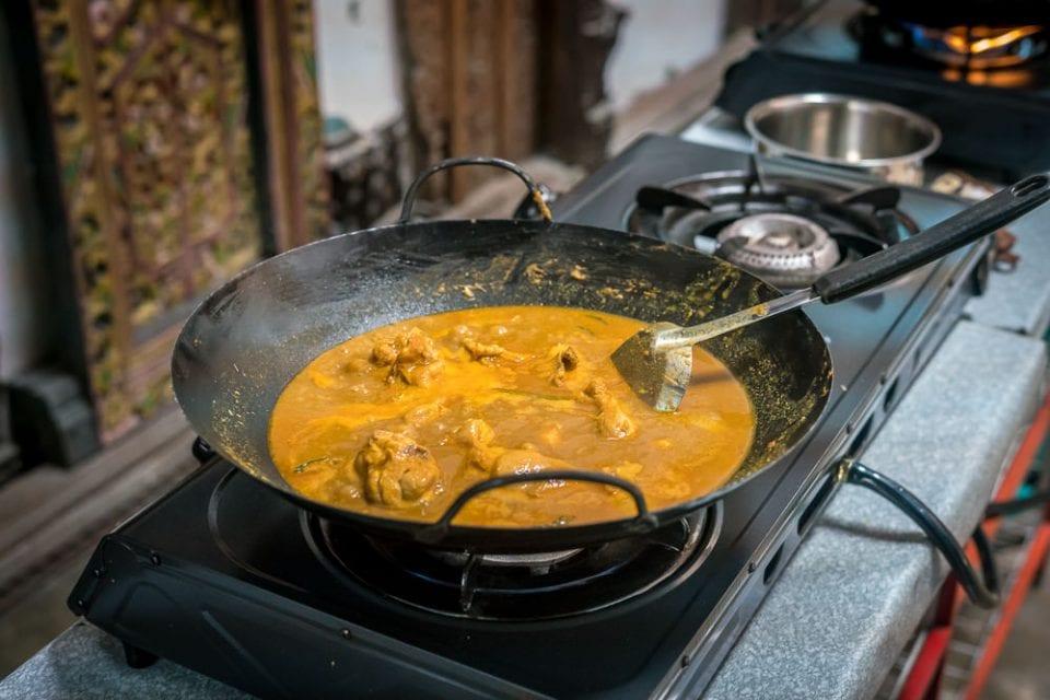 Kochkurs Borneo Curry