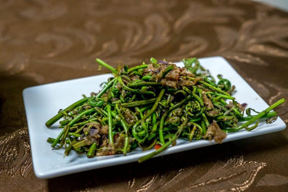 Midin Gemüse Borneo Reise