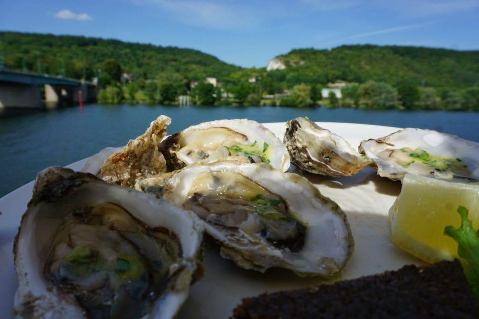 Austern in der Normandie