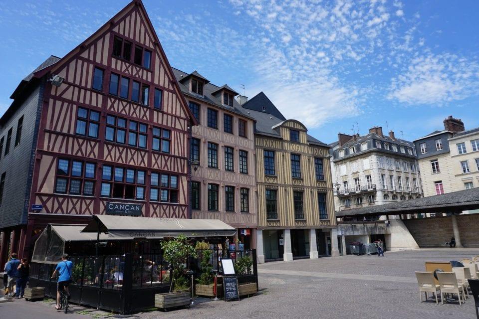 Rouen Altstadt Fachwerkhäuser Reisetipps Normandie