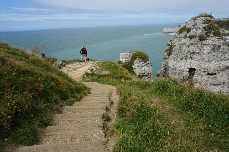 Alabasterküste Frankreich Etretat