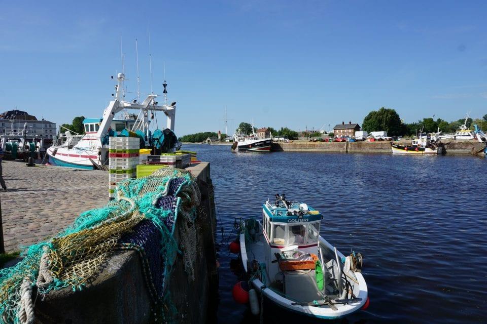 Hornfleur Hafen Fischkutter