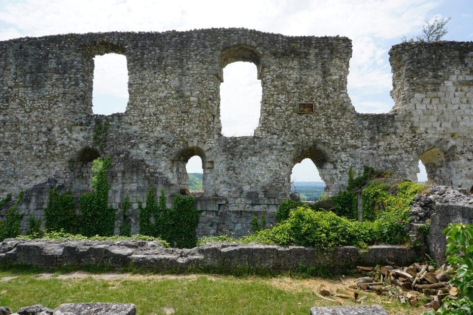 Château Gaillard in Les Andelys Normandie