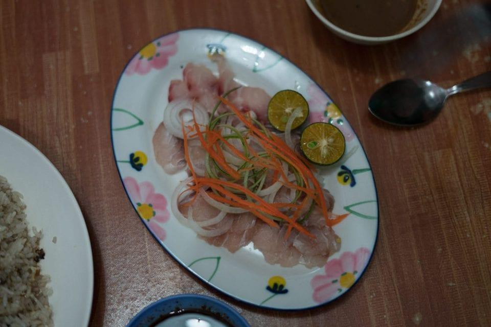 Borneo Malaysia Fish Umai