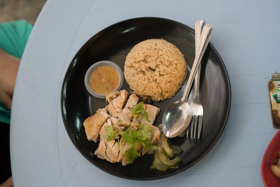 Borneo Malaysia Pork Leg Rice