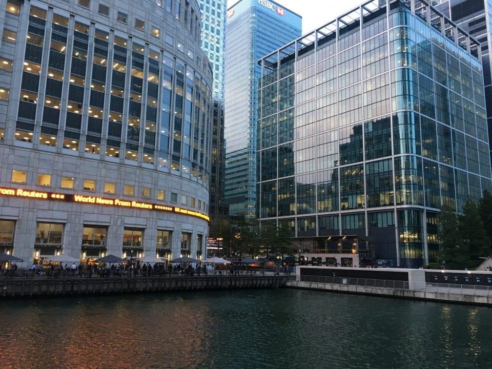 London Docklands Canary Wharf
