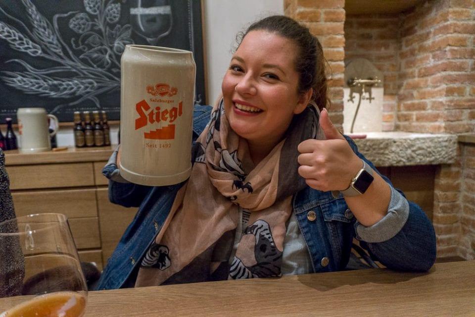 Salzburg Stiegl Brauerei