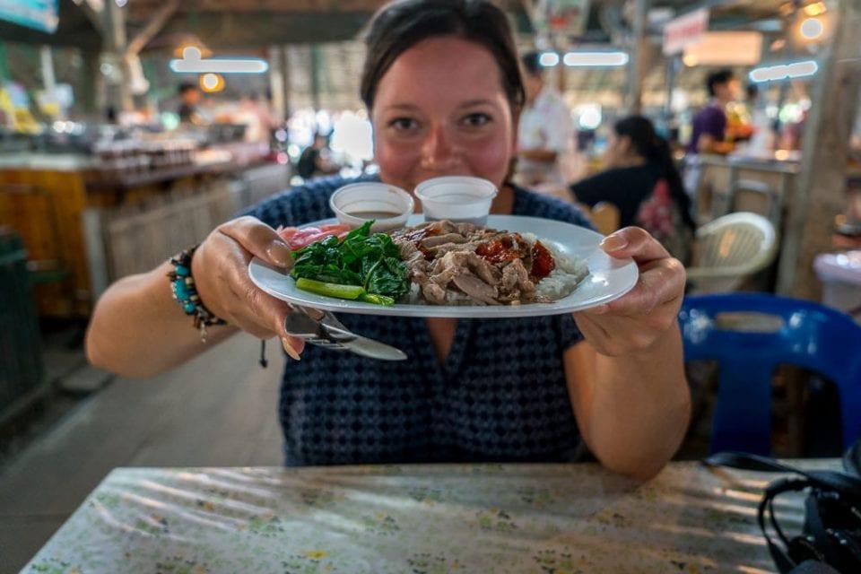 Khlong Lat Mayom Floating Market Bangkok - Schwimmender Markt