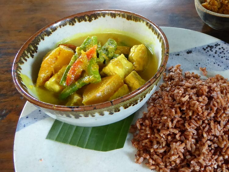Tempeh Curry Indonesien