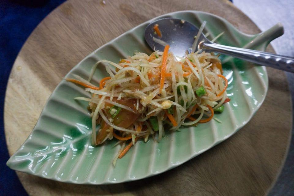 Thailand Street Food Som Tam Chiang Mai Essen