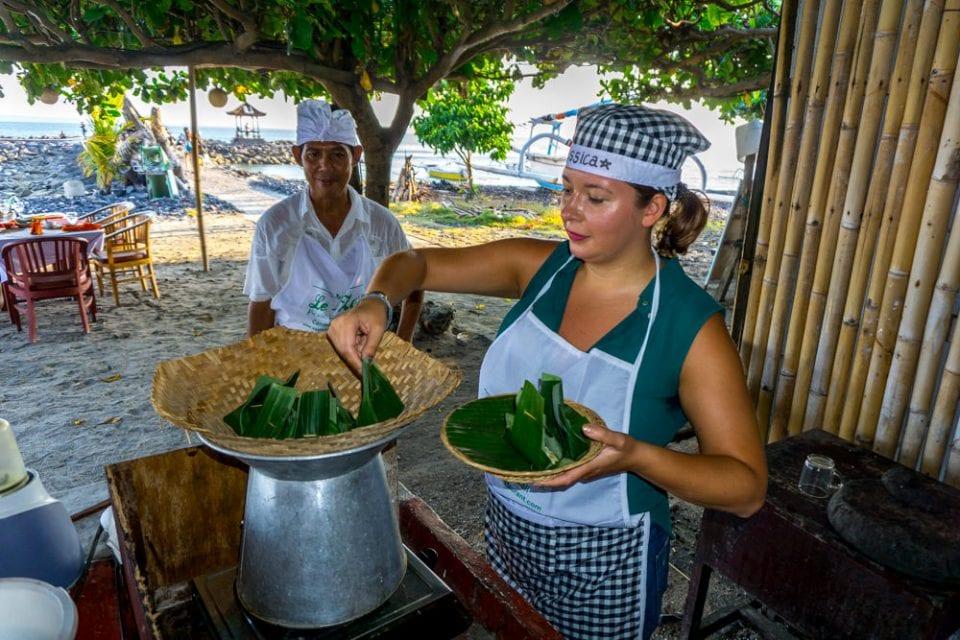 Kochkurs auf Bali Candidasa