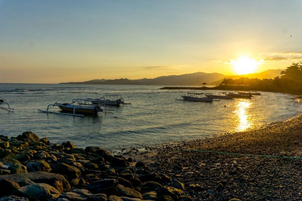 Ashyana Candidasa Resort Sonnenuntergang Bali