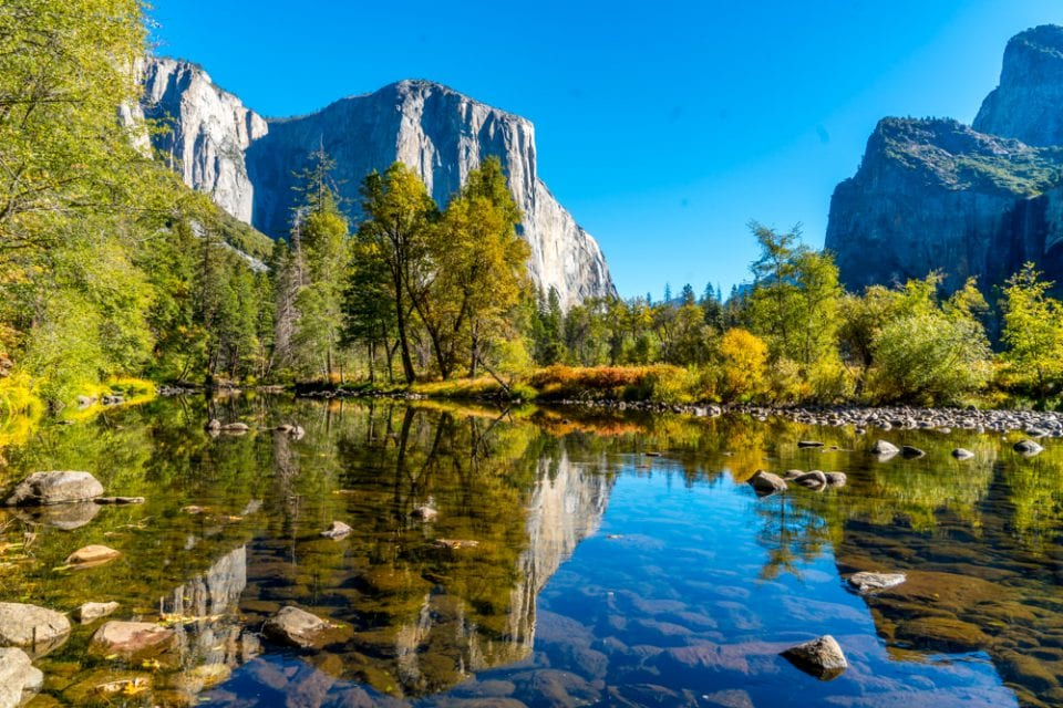 Die Highlights Roadtrip Kalifornien Yosemite Valley Merced River