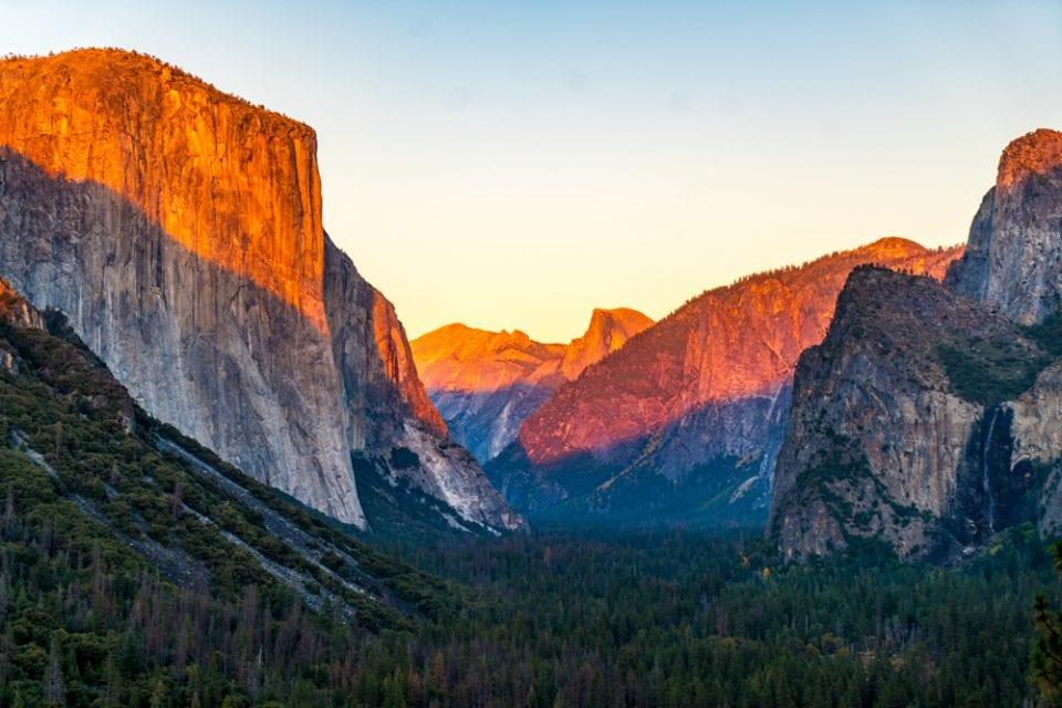 Yosemite Nationapark Tunnel View Kalifornien