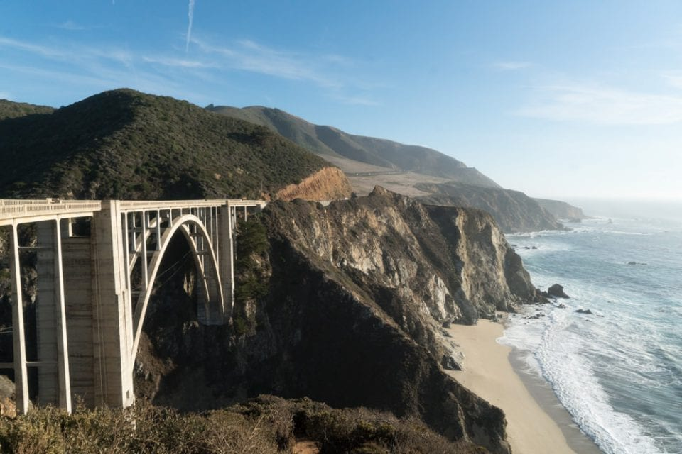 Roadtrip Kalifornien Highway 1 Bixby Bridge