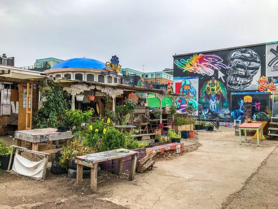 Nomad Community Garden London Geheimtipps