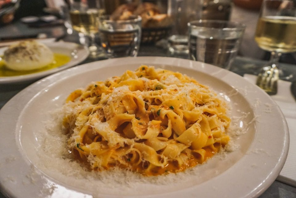 Teller Pasta in Restaurant London