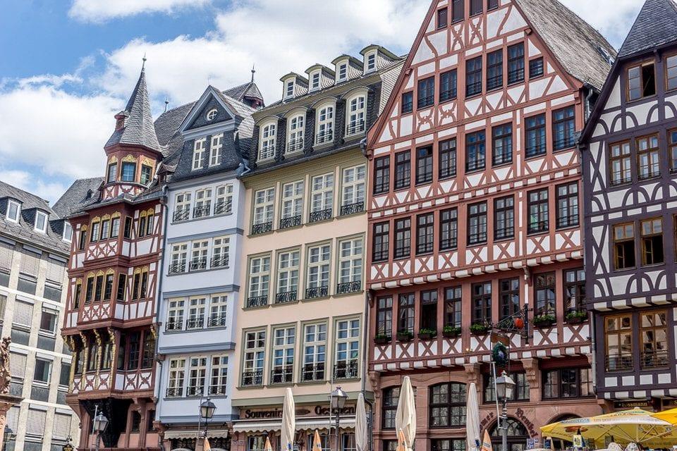 Frankfurt Innenstadt Fachwerkhäuser