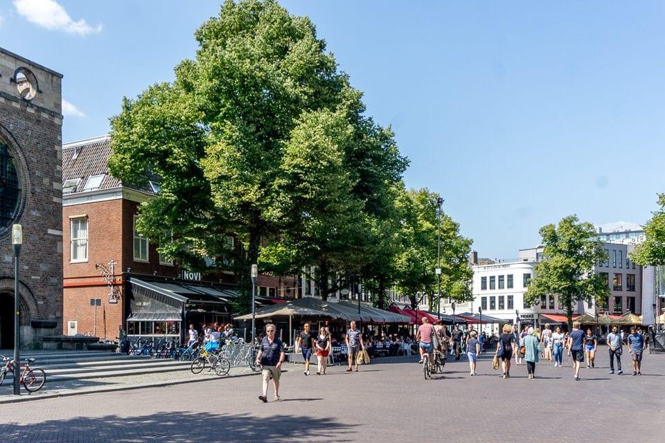 marktplatz, menschen, markt enschede sehenswürdigkeiten