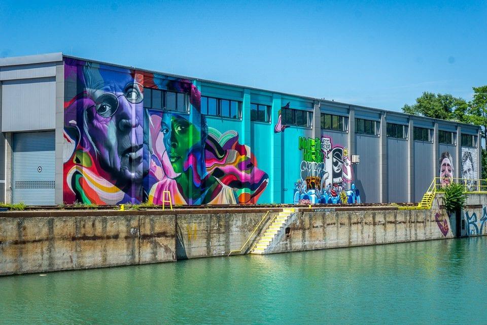 Urlaub in Österreich - Linz Moral Harbor