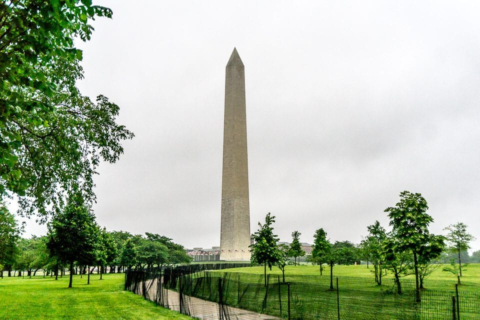 washington national mall park monument