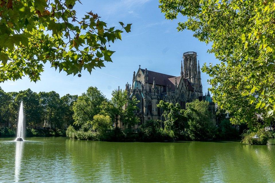 Feuersee Kirche stuttgart