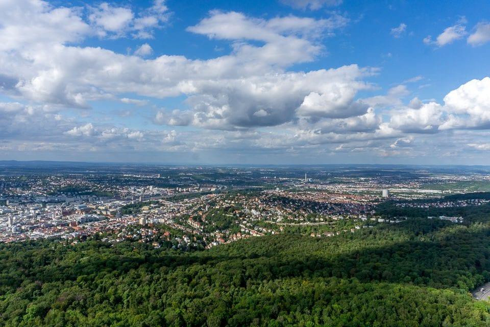 Aussicht Fernsehturm Stuttgart