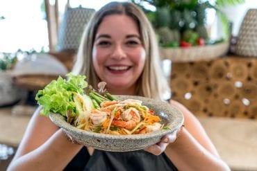 Thailändischer Papaya Salat - Som Tam Originalrezept