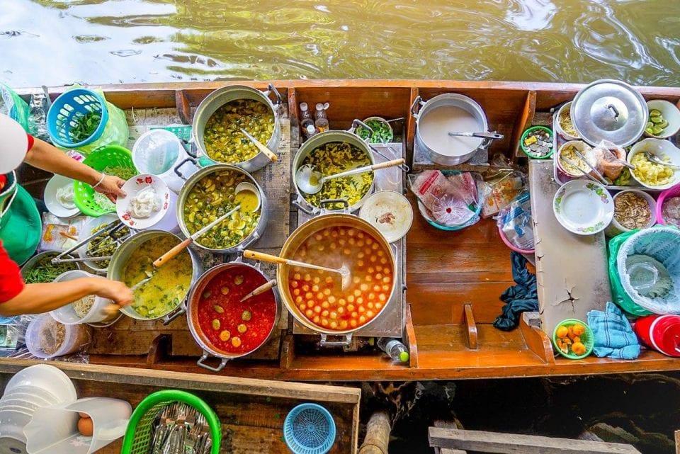 Südostasien Reise Essen und Geld