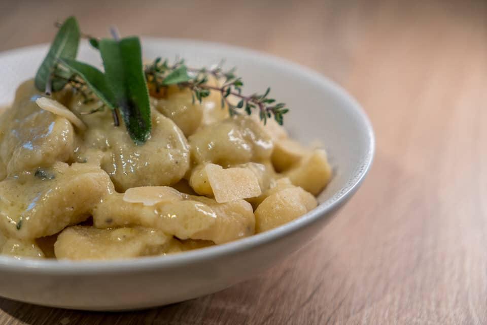 Gnocchi Gorgonzola Sauce