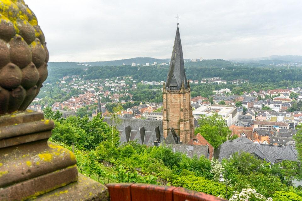 Landgrafenschloss Marburg Sehenswürdigkeiten Ausblick