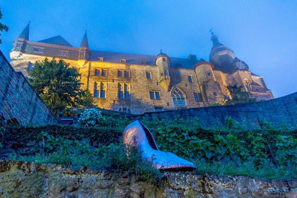 Landgrafenschloss Marburg Sehenswürdigkeiten bei Nacht