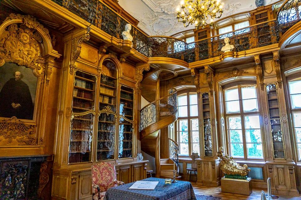 Rogalin Palace Wielkopolska Bibliothek