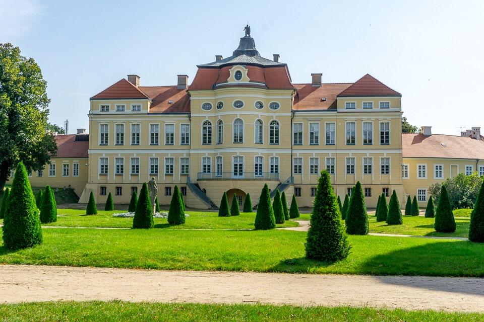 Rogalin Palace Wielkopolska Garten