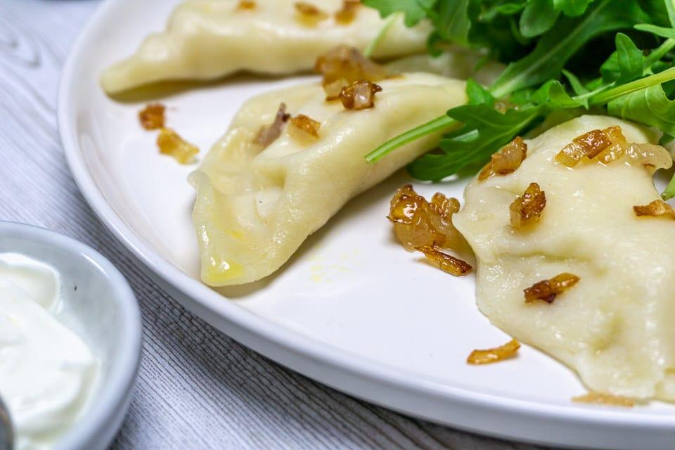Pierogi Ruskie: Rezept für vegetarische Polnische Piroggen